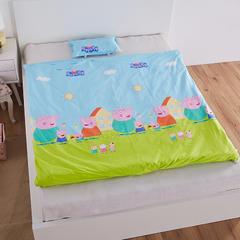大黄蜂   2018新品睡袋保暖绒款-小猪佩奇 薄棉花款(75X120cm)