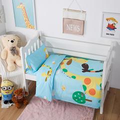 大黄蜂 2018新品大版系列幼儿园套件-三件套 垫套60*120cm款三件套 小鹿物语