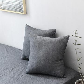 全棉色织水洗棉单品抱枕套