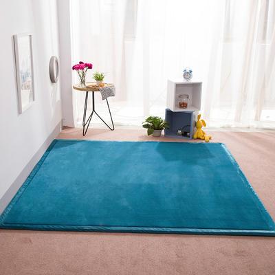 2018地垫地毯飘窗垫宝宝爬行垫(纯色地垫) 8 0 厘米*200厘米 宝蓝色