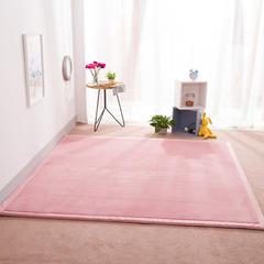 2018地垫地毯飘窗垫宝宝爬行垫(纯色地垫) 150厘米*200厘米 粉色