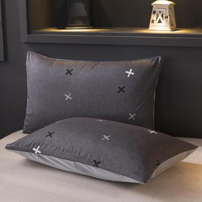 2019新款水晶绒单品枕套 48cmX74cm 一只 旧时光