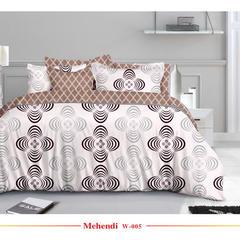 欧式活性印花平纹磨毛布宽幅235cm 克重90g W-005