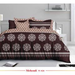 欧式活性印花平纹磨毛布宽幅235cm 克重90g W-020