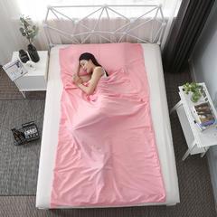 纯2019新款纯色睡袋 粉色75cmX210cm