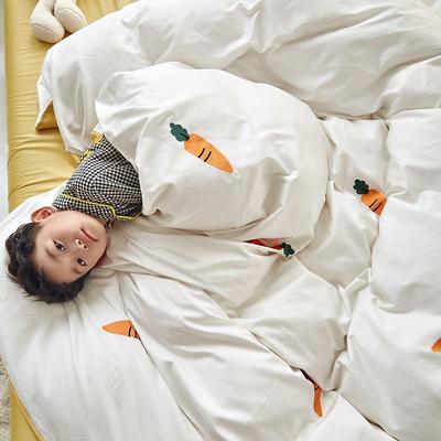 2019新款60s长绒棉四件套 1.5m(床单款四件套) 萝卜白