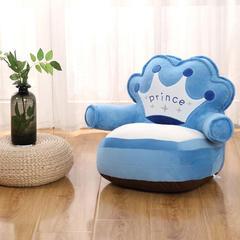 2018新款儿童卡通玩具懒人沙发椅垫 其他规格 皇冠宝蓝