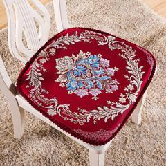 2018新款普罗旺斯--餐椅垫 高密度海绵替换费 红色