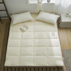 2019新款-全棉A类棉花床褥 90*200(2.5斤) 全棉A类棉花床褥