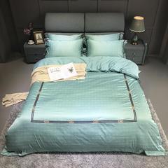 竹棉提花精秀全棉四件套 1.5m(5英尺)床 诺威