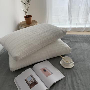2019新款针织软绵绵枕--实拍