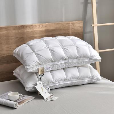 2020新款奢华鹅绒枕-48*74cm/只 奢华鹅绒枕