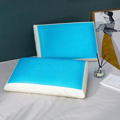 2020新款凝胶零压力记忆枕-40*60cm/只 凝胶记忆枕