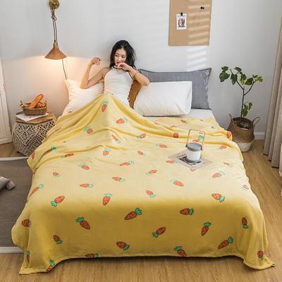 2019新款-法莱绒毛毯 120*200cm 2019萝卜