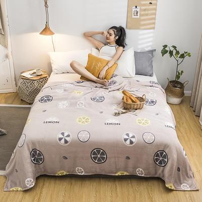 2019新款-法莱绒毛毯 120*200cm 2019沐香