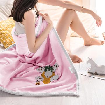 2020新款-云貂绒休闲童毯