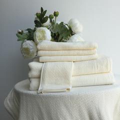毛浴巾-巴厘岛素纱系列 白色毛巾33*74CM