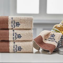 毛浴巾-克罗地亚系列 克罗地亚浅棕毛巾34*72