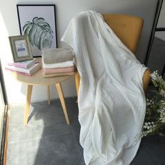 毛浴巾-六层纱布系列 白色浴巾70*140