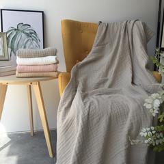 毛浴巾-六层纱布系列 灰色浴巾70*140