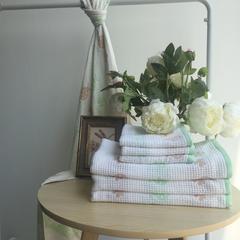 毛浴巾-瓢虫系列 绿色毛巾33*74