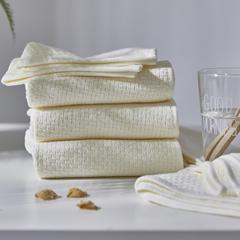 全棉毛浴巾-千丝万缕 千丝万缕奶白浴巾70*140