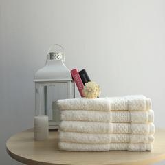 全棉长绒棉毛巾-水晶之恋系列35*76 白色