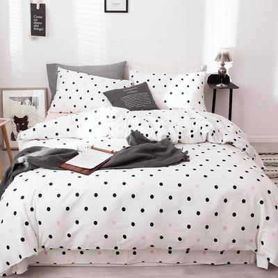 全棉13372四件套 1.2m(4英尺)床(三件套) 恋爱圈