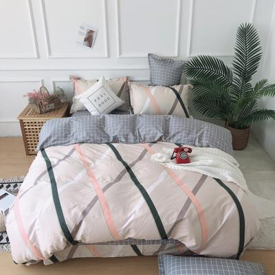 2019新款-全棉13070四件套 1.2m床(床单款三件套) 提拉米苏