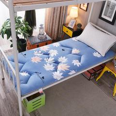 2018新款亲肤棉可折叠榻榻米床垫学生垫小床 90*200 枫叶