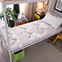 2018新款亲肤棉可折叠榻榻米床垫学生垫小床 90*200 小可爱