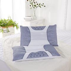 保健枕3(理疗护颈)-灰色半磁疗46*72 灰色半磁疗