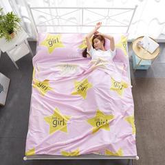 2018新款隔脏睡袋 lucky女孩200x210cm