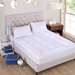 艾兜坊   2018新品羽丝绒床垫立体床垫软床垫 0.9*2.0m 白色