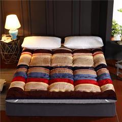 法兰绒羽丝绒床垫 1.5m床 海洋空间
