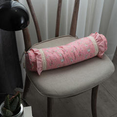 纯小米壳枕 系列枕-44*10cm 粉