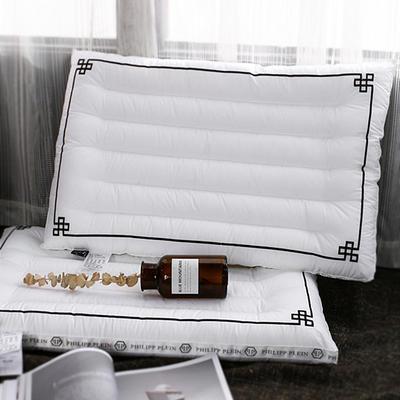 抑菌立體織帶時尚全棉絎繡枕 -斐仆·萊48*74cm 斐仆·萊