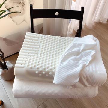 2021新品乳胶枕芯枕头(60cm*40cm*10cm/12cm)颗粒乳胶按摩枕