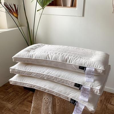 超柔绒超低枕 48*74cm 米白色/只