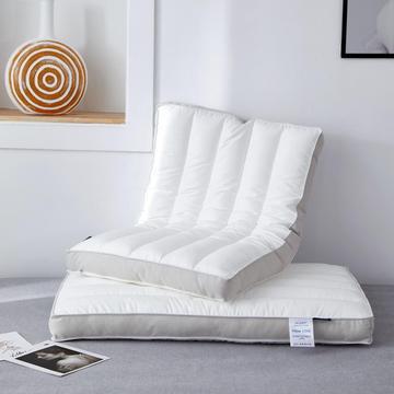 英伦纤柔低枕 多色全棉学生枕头低枕芯 长绒棉糯敢低枕头枕芯48*74cm/只
