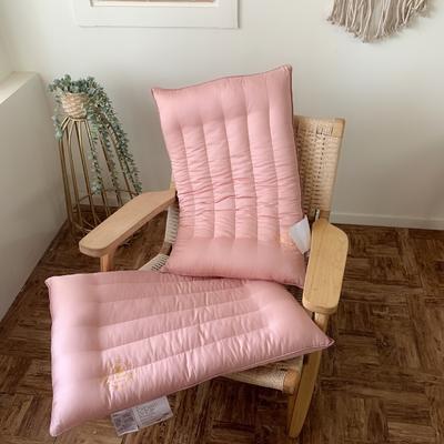 天然艾草抗菌护理枕 低平枕 两款可选 两色可选 48*74cm 低平款-古杏色/只