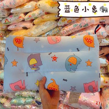新品爆款全棉儿童水洗枕头 学生儿童护颈枕芯枕头 儿童水洗枕