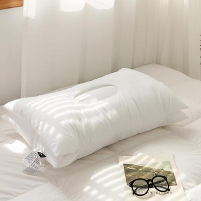 2021新款颈椎SPA按摩枕 全棉凹型护颈枕头枕芯 护颈枕/只