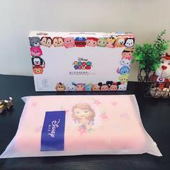 2018新款-迪士尼儿童乳胶枕 苏菲亚公主(30*50*7/9)