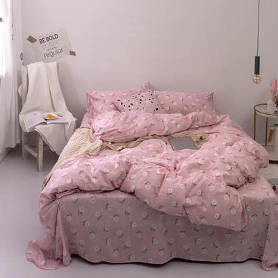 2019新款纱布印花四件套 1.8m(6英尺)床 木子花