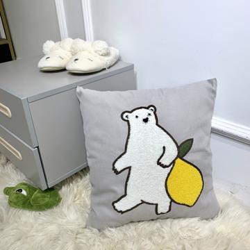 2019新款毛巾绣靠垫