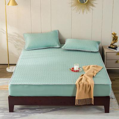 2020新款天丝乳胶床垫 150*200cm 绿