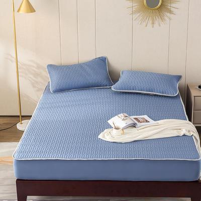 2020新款天丝乳胶床垫 150*200cm 深蓝