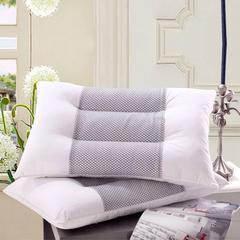 全棉直角黑网保健护颈单人枕头枕芯多功能定型枕透气 全棉直角黑网保健护颈单人枕头枕芯