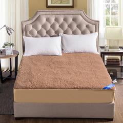 2018新款羊毛床垫驼色短毛床笠款-风格二 150*200 驼色短毛床笠款